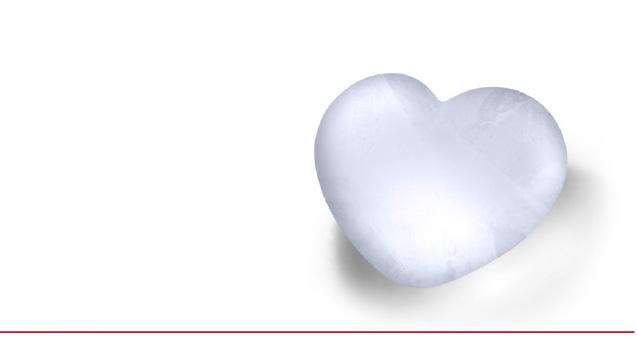 立体ハート型の氷が作れるアイストレー「fred-cold-cold-heart」