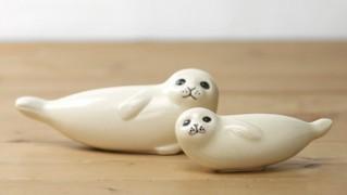 北欧の陶芸アート「Lisa Larson Seal」