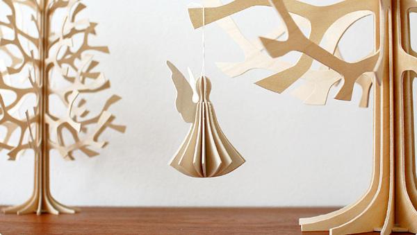 天使が贈れる北欧デザインのポストカード