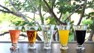 手作りグラス「ミルキーウェイ」