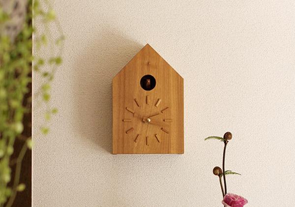 壁掛け時計にもできます。