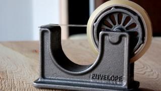 アンティーク風アイアンテープカッター「PUEBCO Tape Dispenser」