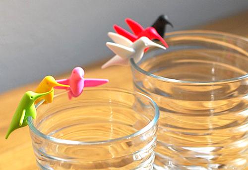 グラスが華やかになるグラスマーカー。