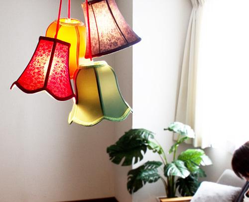 明るい部屋のsaloon-flower
