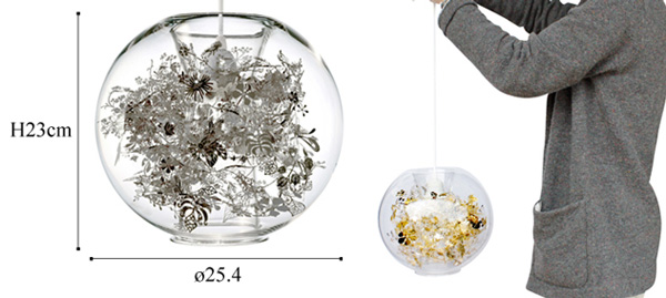 tangle-globeの大きさ