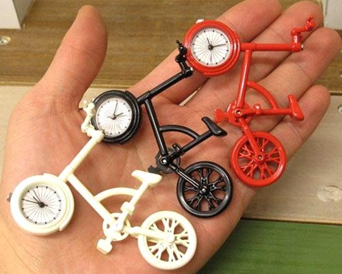 自転車置き時計の大きさ