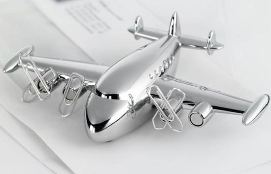 飛行機のペーパーウェイト