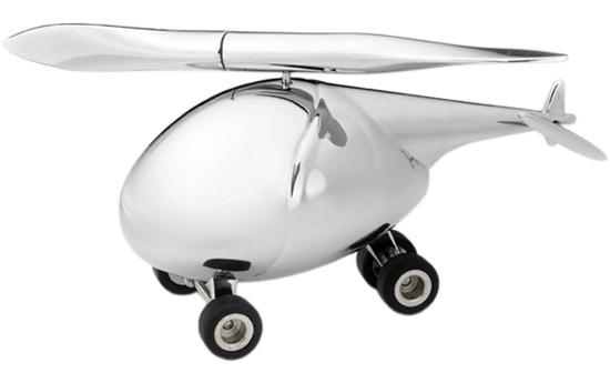 ヘリコプターのペーパーウェイト