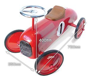 vila レーシングカーの大きさ
