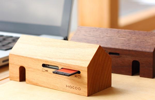 木製カードリーダー「カードリーダーファクトリー」の画像