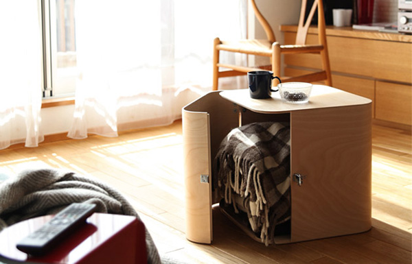 おしゃれな木製収納ボックス「ファティーコンテナーズ」の画像