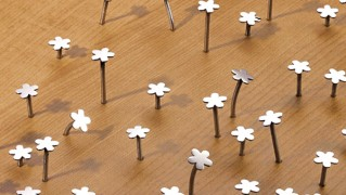 花型のおしゃれかわいい釘「Flower Nail」の画像
