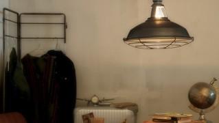 ビンテージ調のペンダントライト「ARTWORKSTUDIO Jail pendant(アートワークス ジェイルペンダント)」