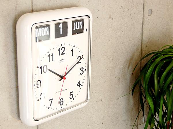 アメリカンレトロな壁掛け時計「TWEMCO(トゥエンコ)BQ-12」の画像