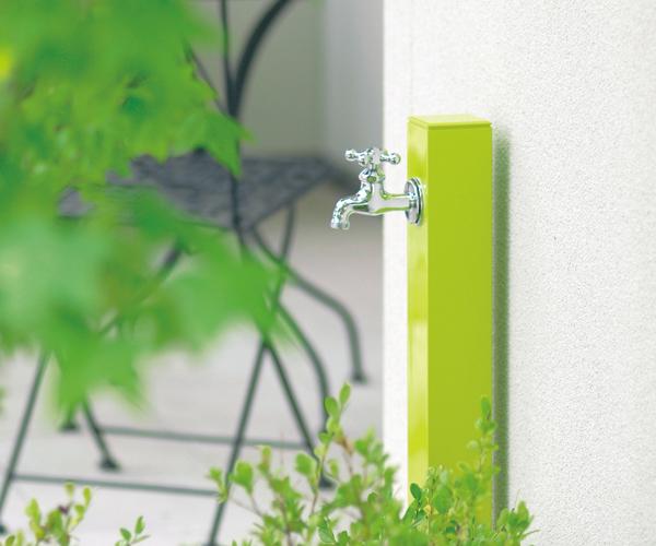 シンプルモダンなおしゃれ立水栓「コロル」の画像