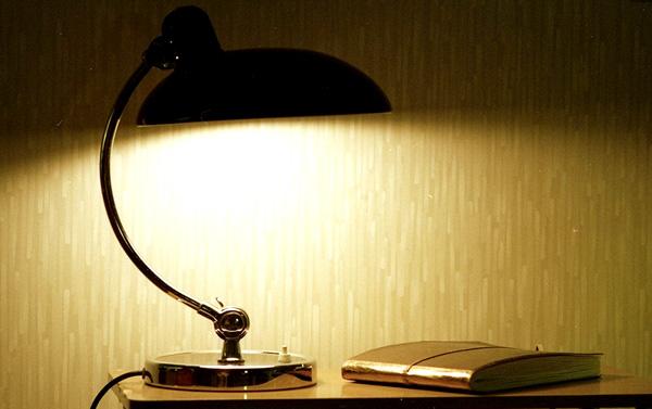 ランプを付けた雰囲気の画像