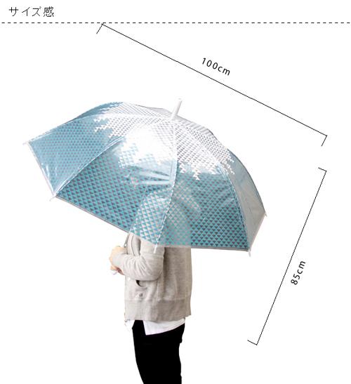 人が傘をさしている画像