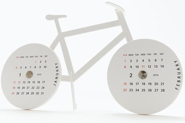 タイヤのカレンダー部分の画像