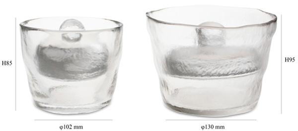 2種類のサイズを並べた画像