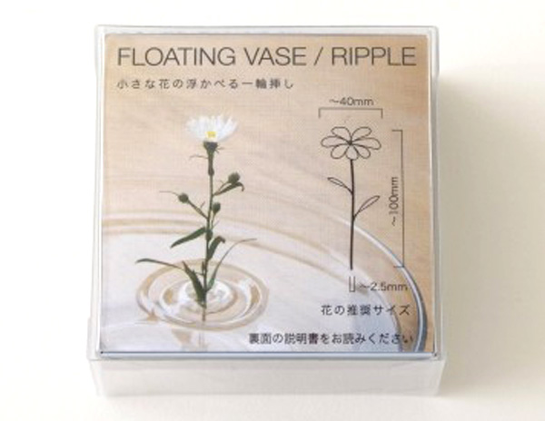 花の推奨サイズが書かれている画像