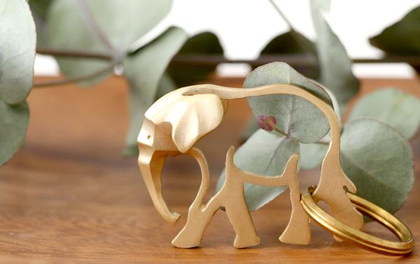 おしゃれかわいい真鍮製の動物キーホルダー「PROOF OF GUILD EZA animal(プルーフ オブ ギルド エズ アニマル)」の画像