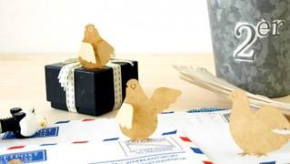 おしゃれかわいい伝書鳩の付箋「Sticky Notes PIGEON(スティッキー ノートピジョン)」の画像