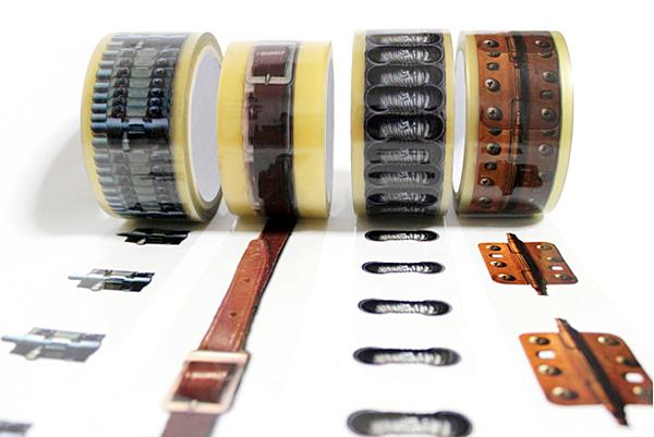 梱包をちょっとおしゃれにしてくれるデザイン梱包テープ「X-tape」の紹介