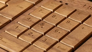 木製キーボード「「Hacoa Full KiBoard(ハコア キーボード」の画像