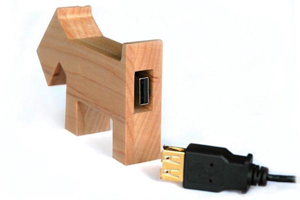 USBコードの接続部分の画像
