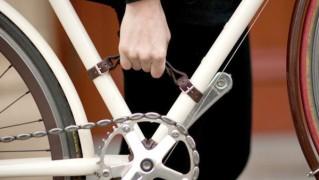 Bike Frame Leather handle(バイクフレーム レザーハンドル)