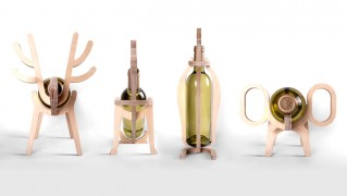 Conte Bleu Animal's bone Wine rack(コントブルー アニマルボーン ワインラック)