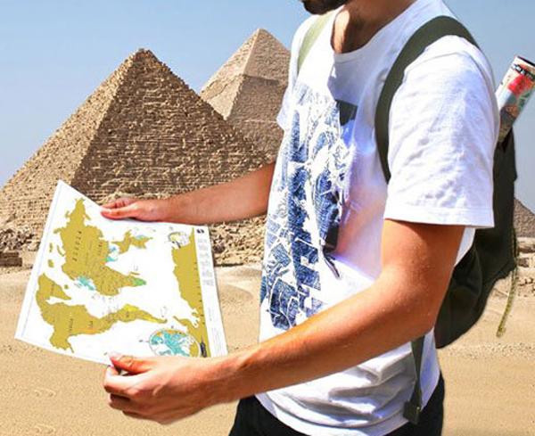 持ち運びサイズの地図画像