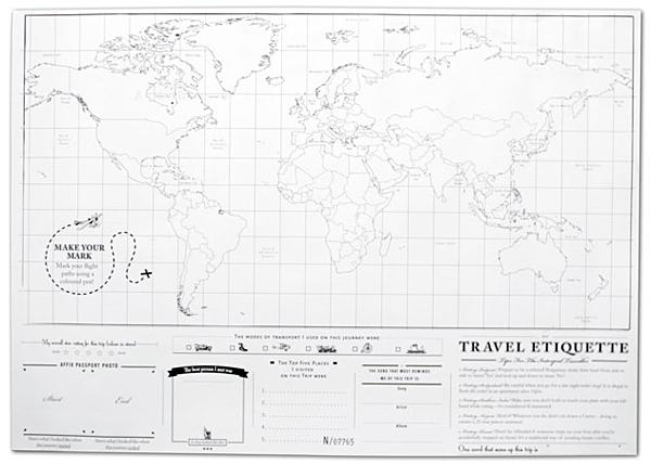 地図の裏面の画像