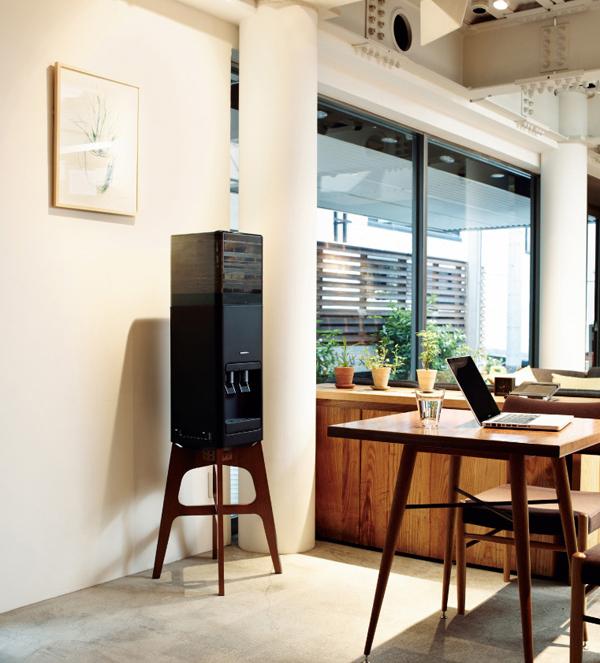ウォーターサーバーをオフィスに設置した雰囲気画像