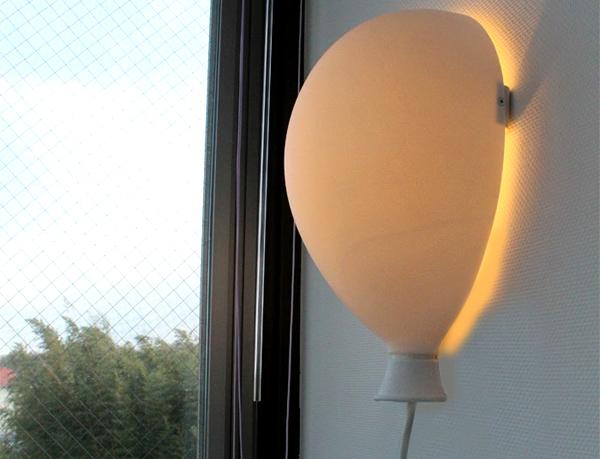 風船型の照明「バルーンライト」の画像