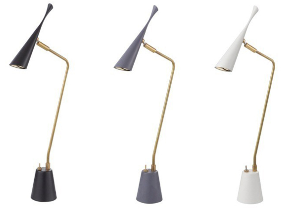 3種類のカラーのライトを並べた画像