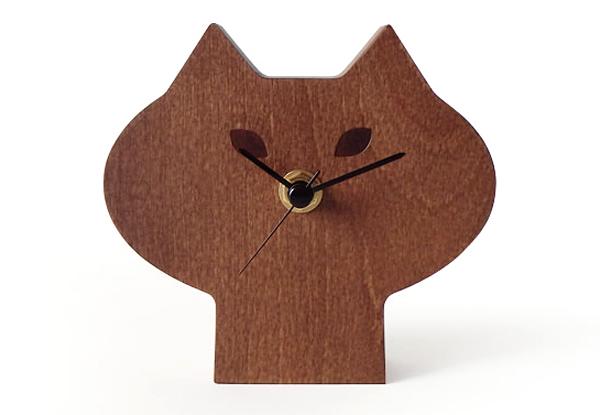 DECOLE ひげねこ時計の画像
