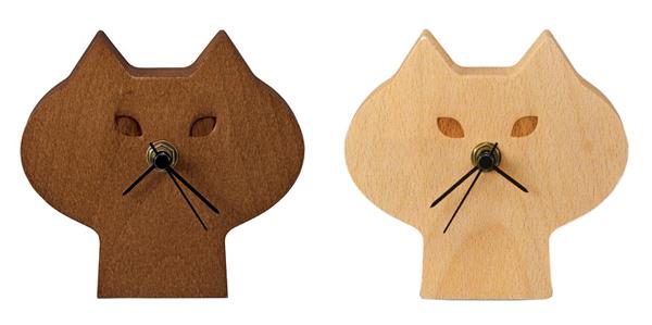 2色の時計を並べた画像