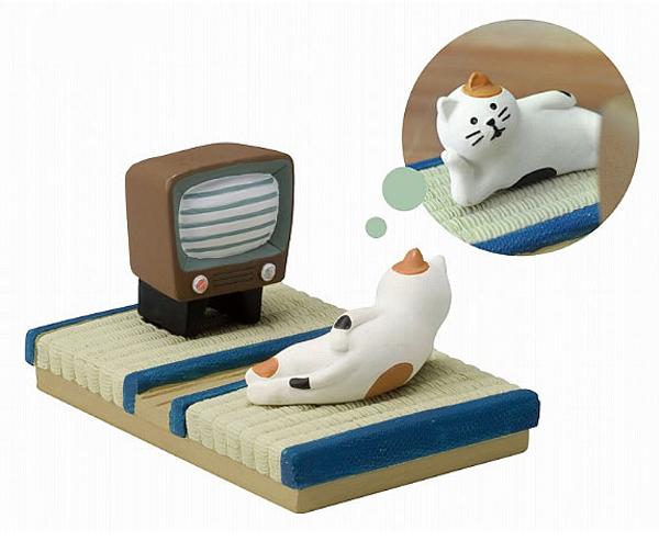 三毛猫スマホスタンドの画像