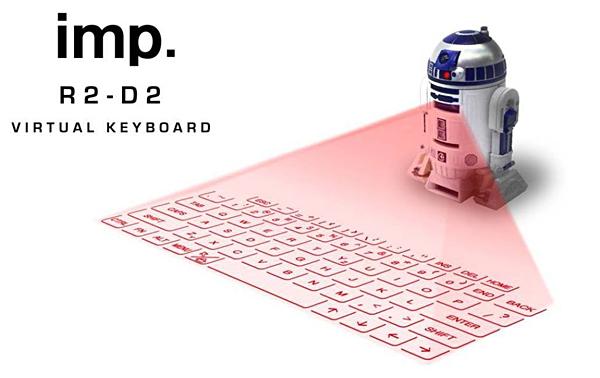 R2D2キーボード「r2d2 virtual keyboard」