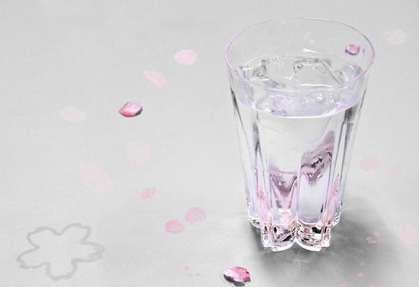 サクラのグラス「sakura saku glass」の画像