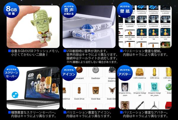 USBメモリの機能を説明した画像