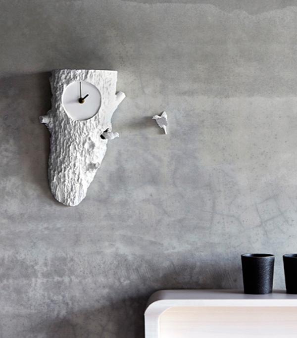 アートおしゃれな壁かけ鳩時計「クックーX クロックツリー」の画像
