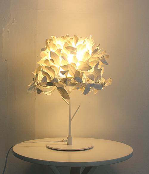 ランプに光を灯した画像