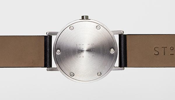 腕時計の裏面の画像