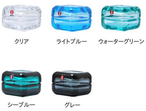 5カラーのiittala vitriiniを並べた画像