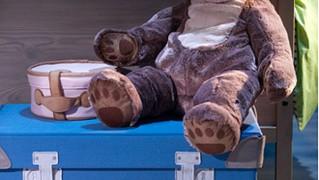 IKEAのおもちゃ箱「PYSSLINGAR おもちゃ用トランク」の画像