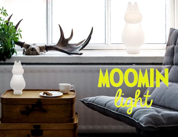 ムーミンインテリア「ムーミンライト」の画像