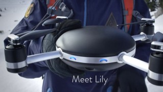 自動追従ドローン「Lily」の画像