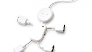 おもしろUSBハブ「USBハブマン」の画像